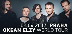 OKEAN ELZY WORLD TOUR PRAHA 02.04.2017